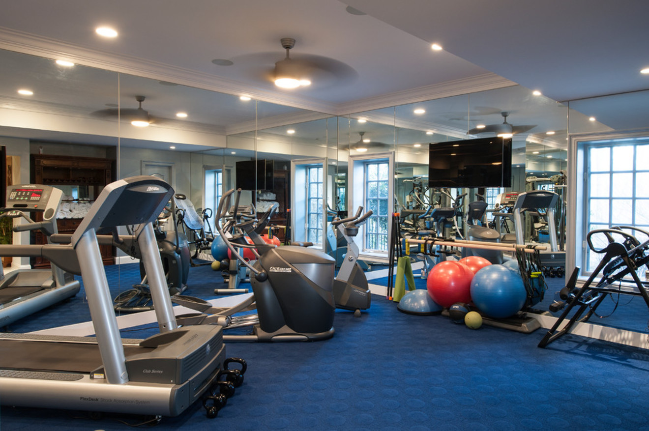 Atrium fitness centre