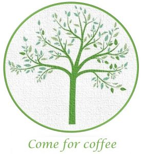 tree logo - come for coffee