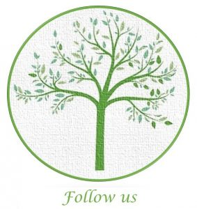 tree logo - follow us