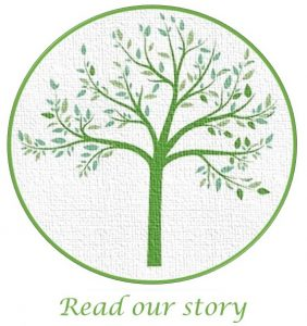 tree logo - read our story
