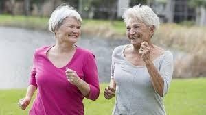 elderly walking